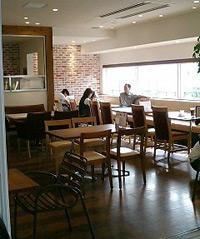 カフェ内部